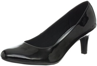 LifeStride Women's Parigi Dress Pump Black Glory 5 M US