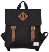 Herschel Black Buckle Satchel Backpack