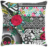 Desigual B&W Luxury European Pillowcase