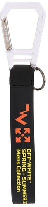 Off-White wavy arrow print rubber strap key ring