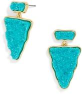 BaubleBar Twilight Druzy Earrings