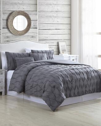 Modern Threads 5Pc Textured Comforter Set