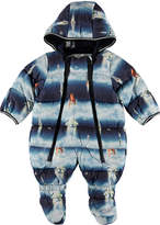 Molo Hebe Water-Repellant Space Ship Print Puffer Snowsuit, Size 3-12 Months