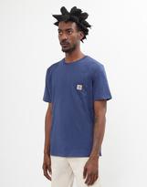 Carhartt WIP Short Sleeve Pocket T-Shirt Blue