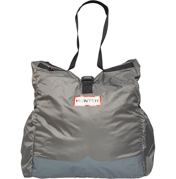 Thumbnail for your product : Hunter Womens Original Ripstop Packable Tote Bag Mere Grey
