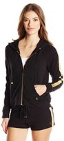Juicy Couture Black Label Women's French Terry Juicy Cutout Jacket