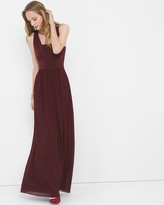 White House Black Market Genius Chiffon Convertible Gown