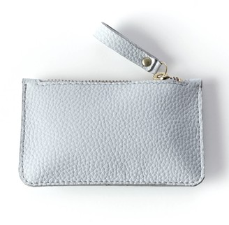 Been London Wilton Way Coin Purse in White Pebble
