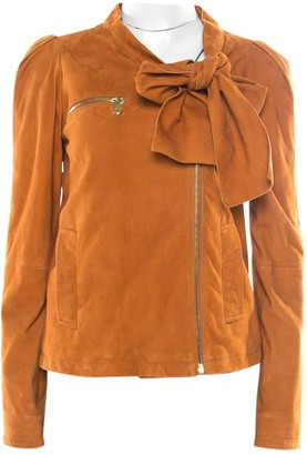 Mulberry Brown Leather Jackets