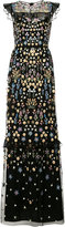 Needle & Thread embellished maxi dress - women - Nylon/Polyester/Viscose - 4