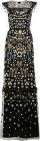 Needle & Thread embellished maxi dress - women - Nylon/Polyester/Viscose - 6