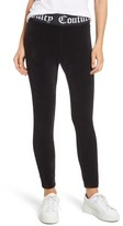 Juicy Couture Women's Stretch Velour Leggings