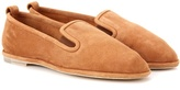 A.P.C. Fleurus leather slippers