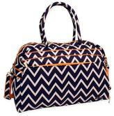 Jenni Chan Aria Madison Soft Gym Duffle Bag in Blue