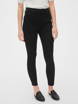 Gap High Rise Skinny Cargo Pants