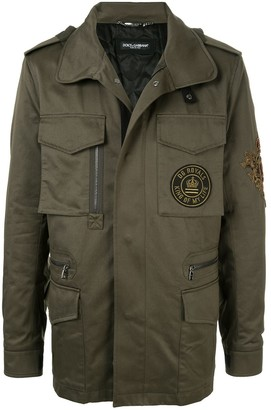 Dolce & Gabbana Zipped Military Jacket