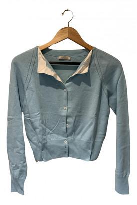 Nina Ricci Blue Cashmere Knitwear