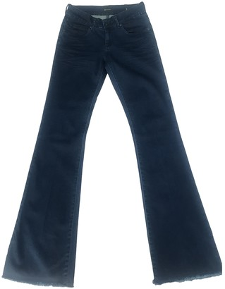 Berenice Blue Cotton Trousers for Women