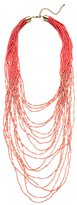 Kenneth Jay Lane Multi Row Bead Layer Necklace