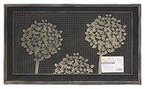 JVL Havana Heavy Duty Welcome Rubber Pin Door Mat, 45 x 75 cm - Trees, Multi/colour