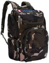 Lug Camo Olive American Flag Backpack