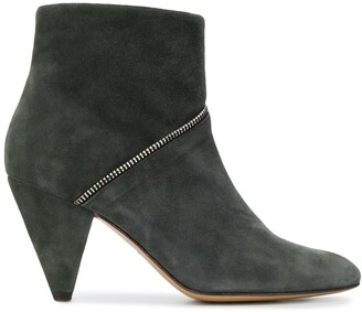 Tila March Zipped Ankle Boots