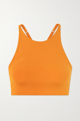 Girlfriend Collective Topanga Stretch Sports Bra - Orange