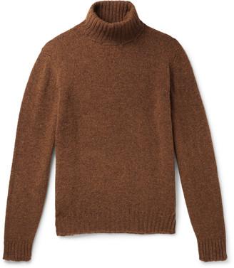 Melange Home Wool Rollneck Sweater