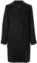 Steffen Schraut animal print coat - women - Polyester/Wool/other fibers - 38