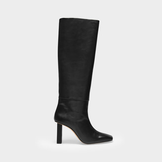 Anny Nord Boots Joan Le Carre In Black Leather
