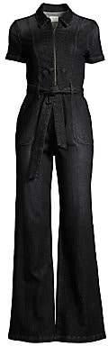 Alice + Olivia Jeans Jeans Women's Gorgeous Wide-Leg Denim Jumpsuit