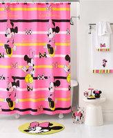 Disney Bath Accessories, Neon Minnie Shower Curtain
