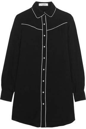 Valentino Silk Crepe De Chine Shirt
