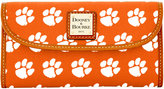 Dooney & Bourke Clemson Tigers Large Continental Clutch