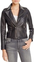Maje Bluffin Leather Moto Jacket - 100% Bloomingdale's Exclusive
