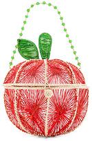 Mercedes Salazar Apple Bag in Red.