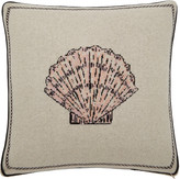 Saved NY Scallop Shell Cashmere Pillow