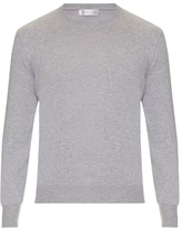 Brunello Cucinelli Elbow-patch Cotton Sweater