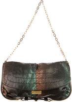 Jimmy Choo Python Shoulder Arad Bag
