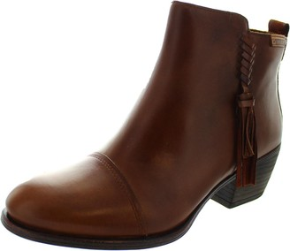 PIKOLINOS Leather Ankle Boots BAQUEIRA W9M