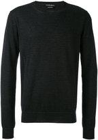 Alexander McQueen crew neck sweater - men - Cashmere - S