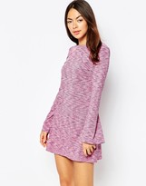 Motel Damitri Dress With Long Sleeves