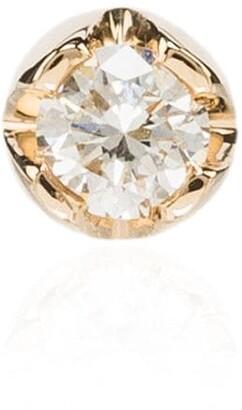 Andrea Fohrman 18K yellow gold diamond stud earring