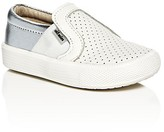 Old Soles Girls' Praise Hoff Perforated Slip On Sneakers - Walker, Toddler, Little Kid