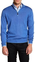 David Donahue Quarter-Zip Pullover Sweater