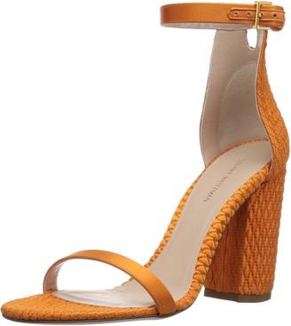 Stuart Weitzman Women's NUQUILT Heeled Sandal