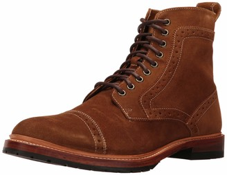Stacy Adams Men's M2 Cap-Toe Suede Lace up Boot Ankle