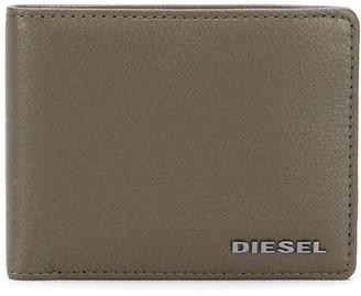 Diesel Logo Bi-Fold Wallet