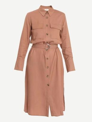 Levete Room - Isadora Utility Shirt Dress Camel - L