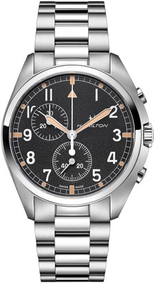 Hamilton Khaki Aviation Pilot Chronograph Bracelet Watch, 41mm